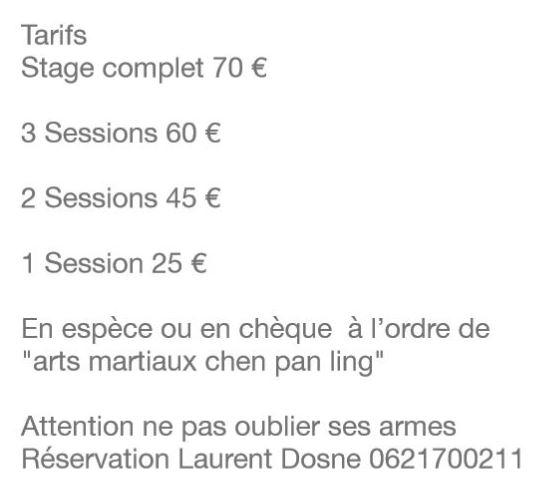 Fr calendrier for Arts martiaux pdf